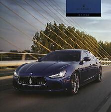 Prospekt D Maserati Ghibli 2014 Autoprospekt Broschüre brochure S Q4 Diesel Auto