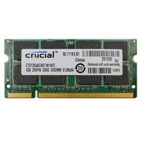 New  4GB PC2-5300 DDR2 667MHZ PC5300  200Pin Laptop RAM Memory Low Density