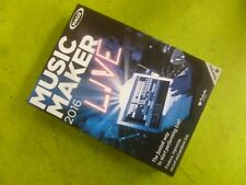 MAGIX MUSIC MAKER 2016 LIVE. BRAND NEW RETAIL BOX WITH DOWNLOADABLE PROGRAM.