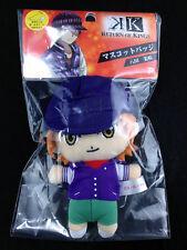 K Project Anime Plush Doll Mascot Badge Key Chain Sunrise Misaki Yata New