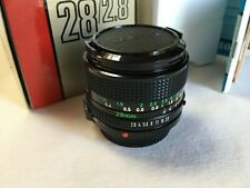Canon fd 28mm f2.8 lens in mint condition.