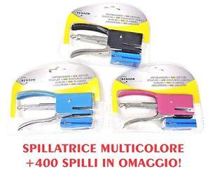 Spillatrice Cucitrice Punti Metallici Ufficio stapler cancelleria agrafeuse