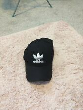 Black Adidas Cap New Without Tags