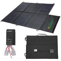 Lensun 150W Foldable Solar Panel Blanket with Waterproof MPPT Solar  Controller
