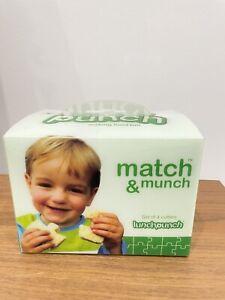 Lunch Punch® Match & Munch Sandwich Cutters Brand New