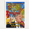 DONALD TRUMP RIGGED Funny Happy Birthday Greeting Card MAGA PARTY GIFT _not aceo