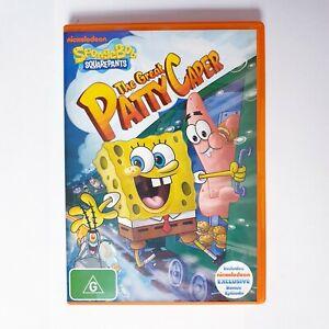Spongebob Squarepants The Great Patty Caper DVD Region 4 AUS Free Postage