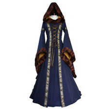 Women Halloween Costume Wench Victorian Renaissance Dress Witch Medieval Cosplay
