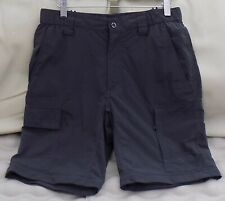 "Ltd Use/Unmarked! Mens THE NORTH FACE Cargo Shorts 100% Nylon Charcoal Grey 30""W"