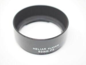 Voigtlander 50mm f2 Heliar Classic Metal Lens Hood