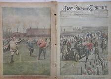 LA DOMENICA DEL CORRIERE 18 25 Marzo 1923 Billia a Tripoli Polisportiva Grassi