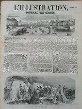 L' ILLUSTRATION 1850 N 397 LE CAMP DE VERSAILLES DANS LA PLAINE DE SATORY