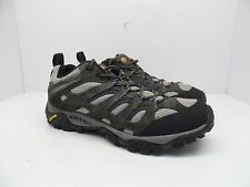 Merrell Men's Moab Ventilator Hiking Trail Shoe Beluga Denim Blue Size 11M