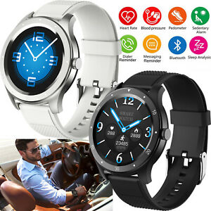 Bluetooth Smart Watch Heart Rate Blood Pressure for IOS Android Huawei Samsung