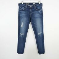 AG The Legging Jeans Super Skinny Womens W30R L29 Ankle Blue Adriano Goldschmied