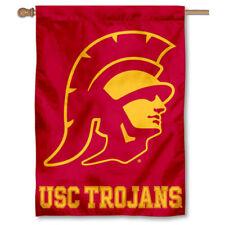 USC Trojans Trojan Head House Banner Flag