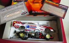 2003 PMC 1 24 Del Worsham Pontiac Funny Car Checker Schucks W Certificate