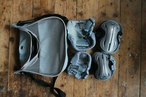 Rollerblade knee & elbow pads with bag, size M