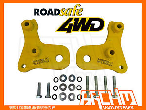 ROADSAFE PAIR OF HEAVY DUTY TOW POINTS FOR TOYOTA LANDCRUISER 76/78/79 SERIES