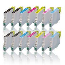 14 cartuchos compatibles para Epson px710w px800fw px820fwd px650w px660 px700w p50