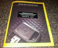 NEW JOHN DEERE 316 318 420 OPERATORS MANUAL