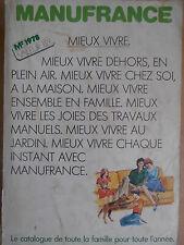 Catalogue Manufrance 1978 ( ref 31 )