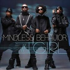 MINDLESS BEHAVIOR #1 Girl CD w/ DIGGY SIMMONS w/ FOLD OUT POSTER USA Seller