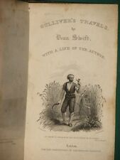 Gulliver's travels Jonathan SWIFT 1824 + sorrows of Werter STERN 1826