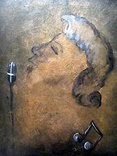"""""""Harmony"""", Original , acrylic, surrealism, fantasy, signed"""