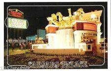 Caesars Palace HOTEL Casino Las Vegas FOUNTAIN postcard Vintage Nite image NOS T