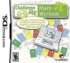 Challenge Me: Math Workout (Nintendo DS, 2009)