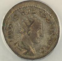 AD 247-249 Roman Silver Antoninianus Coin Philip II Rome Mint ANACS EF-40 AKR