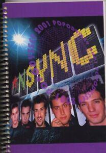 NSYNC - TOUR - ITINERARY - 2001 - US