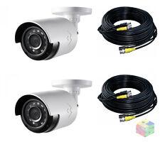 LOREX LBV-2531 1080p Analog HD CCTV Bullet Security Camera 130' Night Vision 2PK
