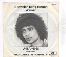 Izhar Cohen  + The Alpha-Beta :  A-Ba-Ni-Bi