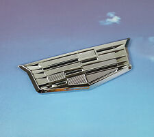 Silver Cadillac Metal Emblem Sticker Badge Decal Fender Trunk Door CTS SRX STS