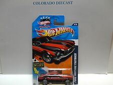 2011 Hot Wheels #89 Black Ford Mustang Fastback wY5 Wheels & License Plate
