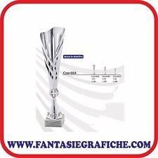 Tris coppe Trofei premiazione Targhetta personalizzata SPEDIZIONE GRATIS FG664