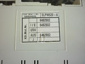 Genuine used Miele Power-/Control unit ELPW520 - G1220 dishwasher- 6482802