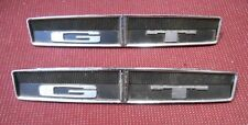 1969 DODGE DART GT pair Interior Door Panel Emblems MOPAR 2894996 2894994
