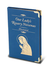 Our Lady's Rosary Novena, Book in Blue Leatherette, Gold Tipped Edges