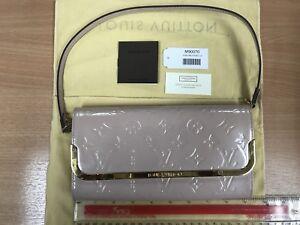 louis vuitton bag/ Clutch/ Handbag Authentic Dusky Pink