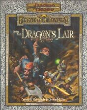 INTO THE DRAGON'S LAIR D&D FORGOTTEN REALMS D20 ADVENTURE 10TH LEVEL CHARACTERS