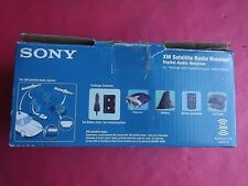 NEW Sony DRN-XM01C XM Satellite Radio Receiver W/Car kit, remote, cassette