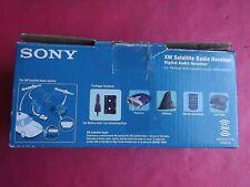 NEW Sony DRN-XM01C XM Satellite Radio Receiver W/Car kit, remote, cassette