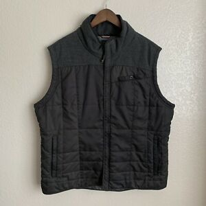 Royal Robbins Men's Black Insulated Vest Jacket Size XL