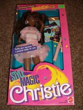 Vintage Barbie Christie Style Magic Wondra Curl Black Doll 1288 Mint 1988 NRFB