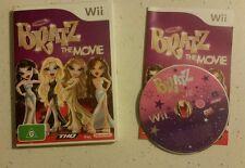 Nintendo Wii Bratz The Movie - Complete - Pal - Fast Free Post!  Rare!!