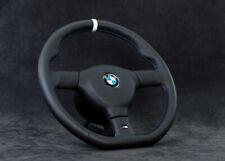 Bmw E36 M3 E34 M5 540i Z3 Z3m M-tech 2 steering wheel customized  Flat Bottom