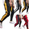 Homme Coupe Slim Bas Survêtement Course Jogging Salle de Gym Joggeurs Pantalon